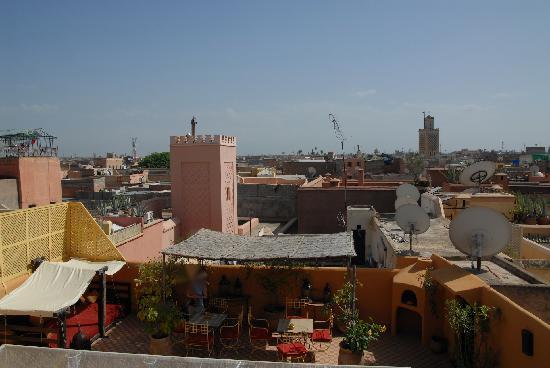 Riad Dar Tayib: La terrasse