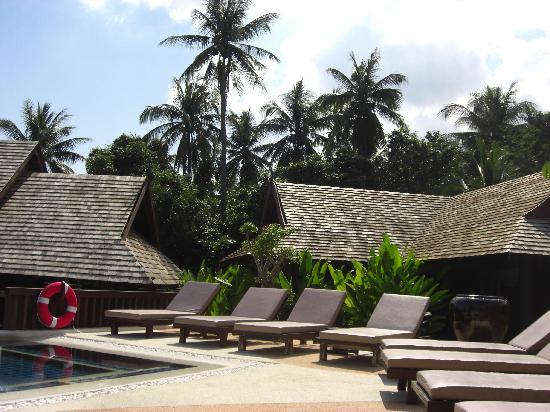 Bhundhari Spa Resort & Villas Samui: Quiet Pool Area