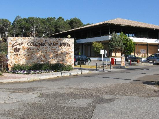 Blau Colonia Sant Jordi Resort & Spa: Front of hotel