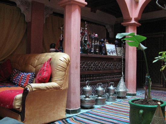 Riad Rahba Marrakech: il patio