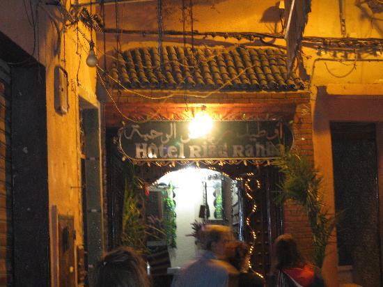 Riad Rahba Marrakech : l'ingresso