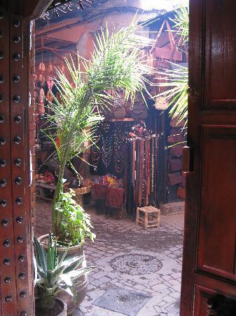 Riad Rahba Marrakech: l'ingresso