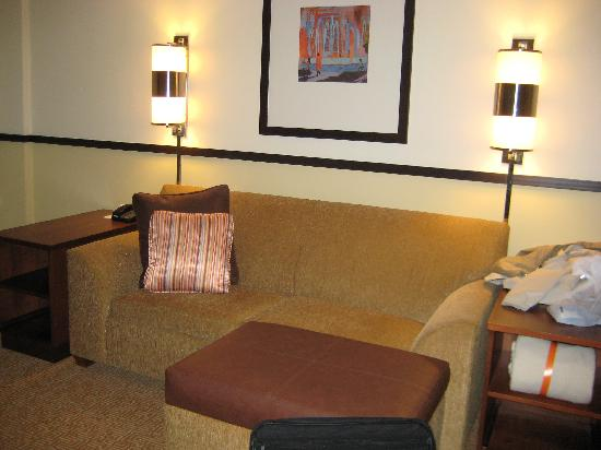 Hyatt Place Greenville: sitting area/sofa