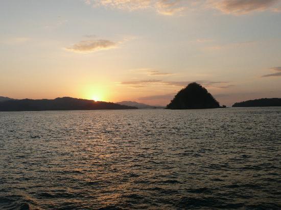 Hotel El Tajalin: On the ferry to Puntarenas