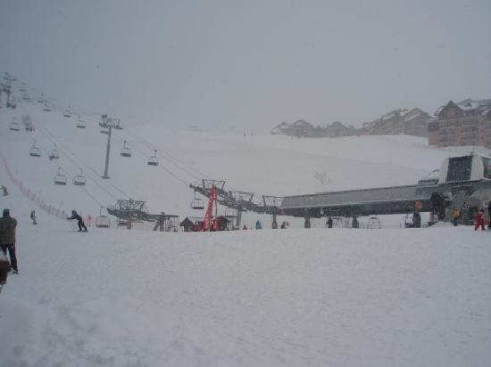 Residence Odalys L'Ecrin des Neiges: Snow!!!