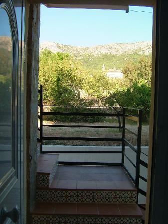 Hostal La Paloma II : From inside the room