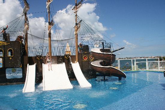 Pirate Ship Picture Of Panama Jack Resorts Cancun