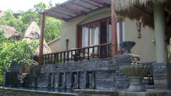 MAIA Luxury Resort & Spa: View of the bedroom & bedroom terrace