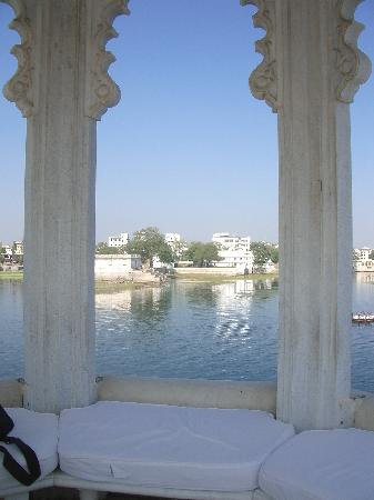Taj Lake Palace Udaipur : Quiet spot for sitting