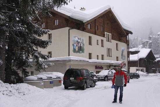 Hotel Astoria : Spring skiing in Arosa @ the Astoria