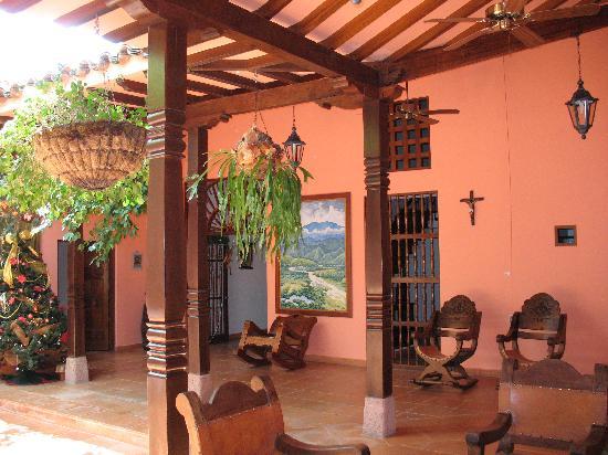 Hotel Casa Tenerife: Recepción.