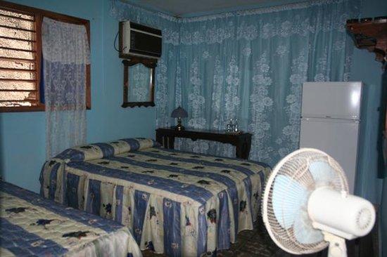 Casa Ganga: Dormitorio