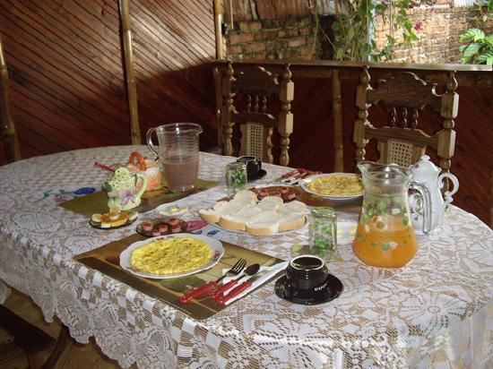 Casa Ganga: Desayuno