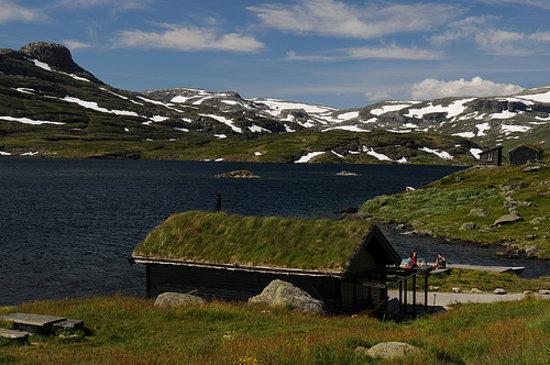 Vinje Municipality, Norwegen: Haukeligrend - Haukeliseter - Norway