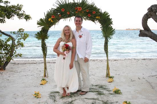 Coco Plum Cay, Belize : Wedding photo