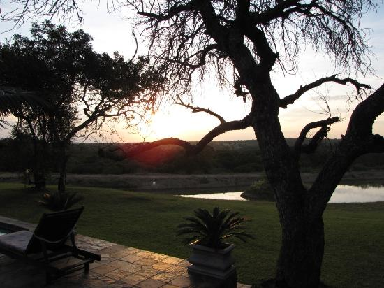 Elandela Private Game Reserve: magical sunset