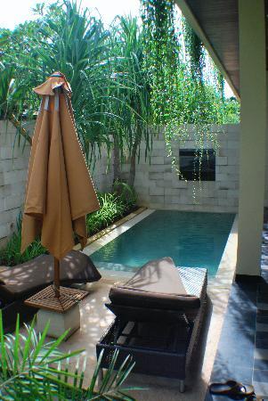 Plunge pool picture of sun island boutique villas spa for Villas de jardin seychelles tripadvisor