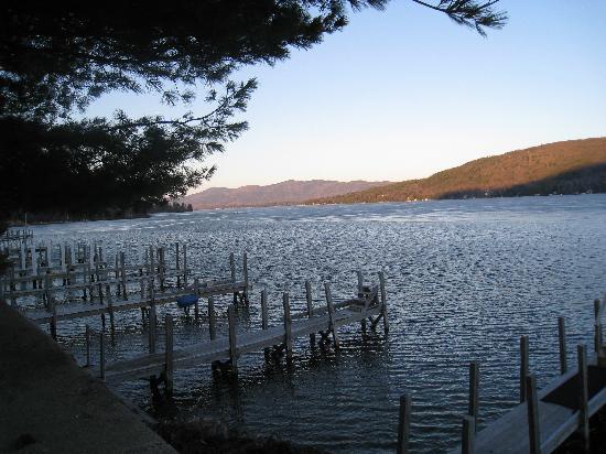 The Georgian Lakeside Resort: View of Lake George