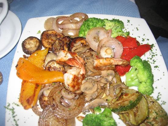 Coconut Palms Resort: Coconut Palms Restaurant Fresh Vegetable Platter