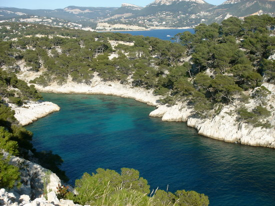 Cassis, France : View of Calanque de Point-Pin