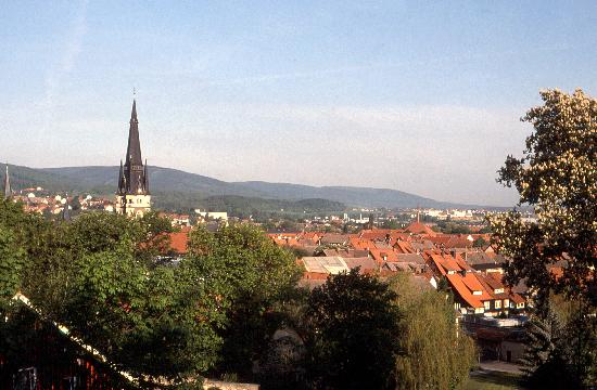 Schlossberg-Hotel: View from our room