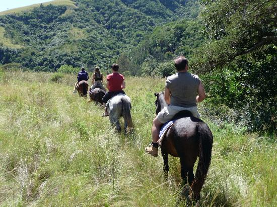 Zululand, Sudáfrica: all in a day's ride