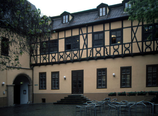 Halle (Saale), Germany: Handel's birthplace: exterior