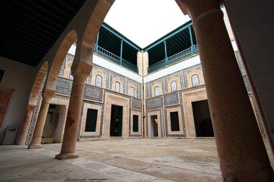 Sfax, Tunisie : cour intérieure