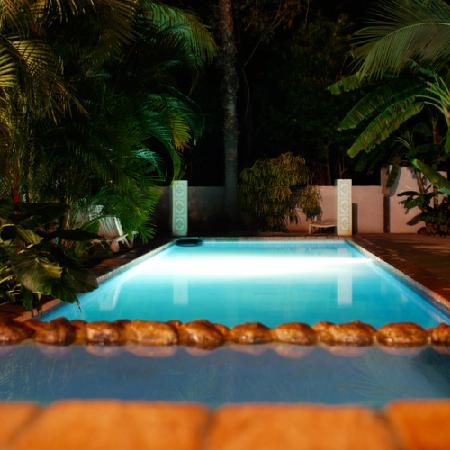 Hotel Nahua: Photo of the pool, from a previous visit to Nahua