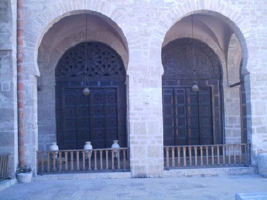 Grande Mosquee : porte