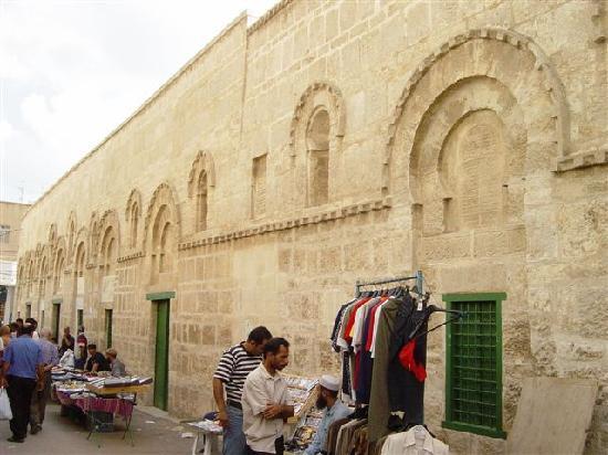 Grande Mosquee : façade est