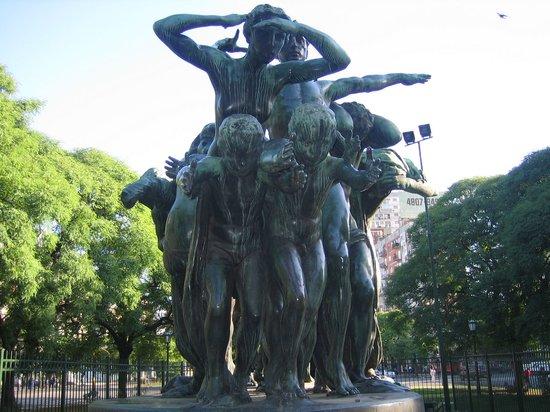 Buenos Aires, Argentinien: Monumento al trabajo