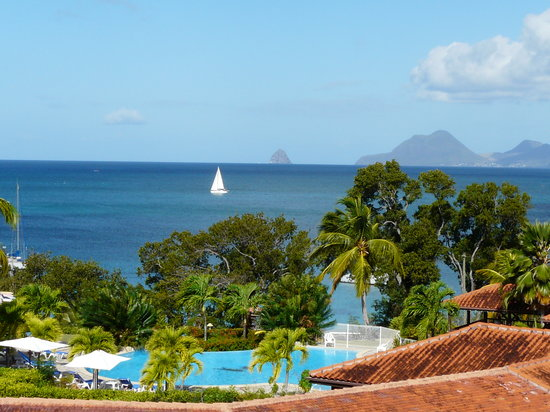 Residence de l'Anse Caritan: vue de la chambre