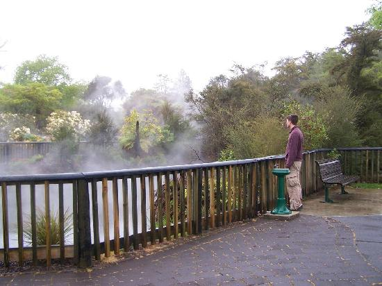 Astray Motel : Local Geothermal acitivity