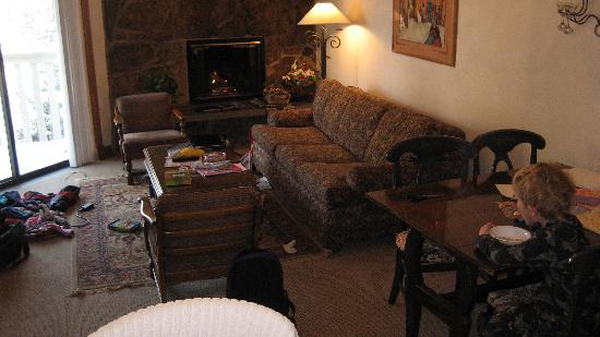 Westwind at Vail: living room