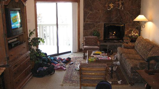 Westwind at Vail: living room 2