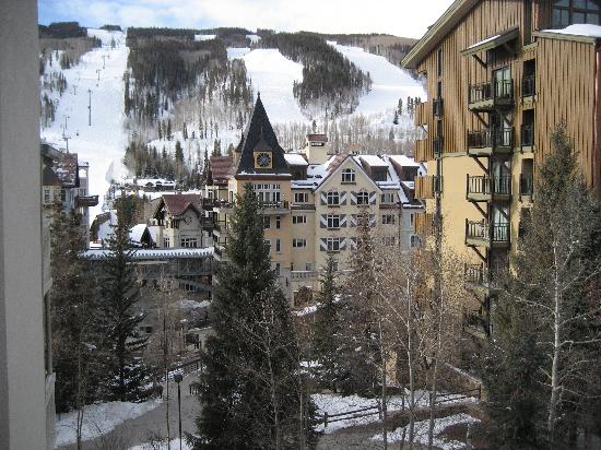 Westwind at Vail : view from balcony