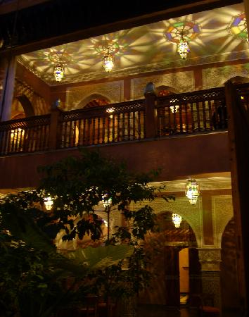 La Sultana Marrakech: Riad lights