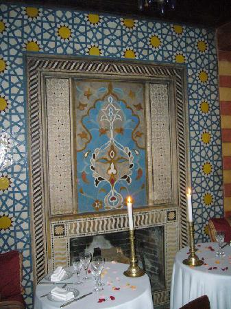 Dar Yacout: One of the many semi-private dining areas