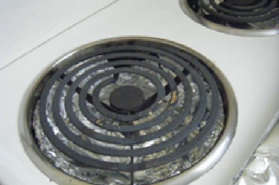 Tamar River Villas: Kitchen oven top