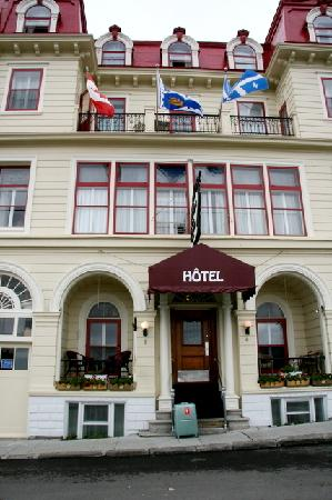 Hotel Terrasse Dufferin: 正面からの外観