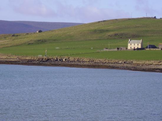 Quoy of Houton: a view of the Quoy from across the bay