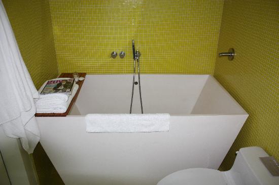hotel on rivington japanese soaking tub