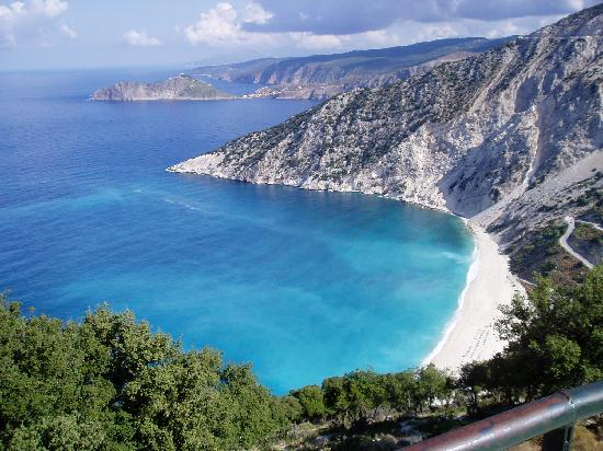 Agia Efimia, Greece: Myrtos Beach - simply stunning!