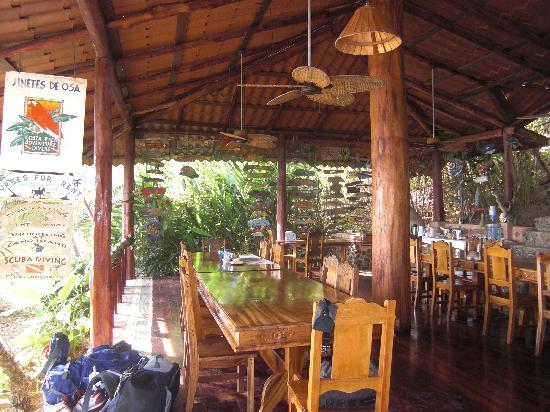 Jinetes de Osa Hotel: The Dining Area