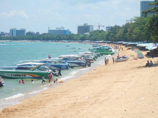 Pattaya, Thailand: パタヤビーチ