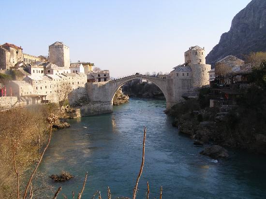 Bosnian National Monument Muslibegovic House Hotel: Stari Most (The Old Bridge)