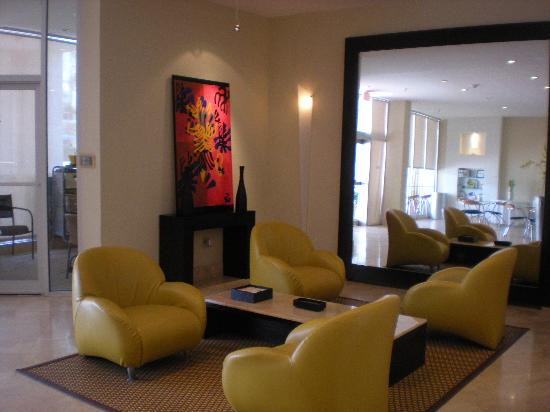 The Mimosa Hotel: Reception Area