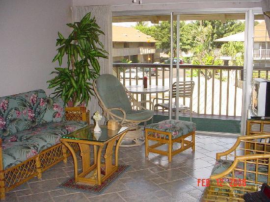 Kihei Bay Surf: living room