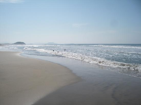 Casa Viva Troncones: rush hour at the beach